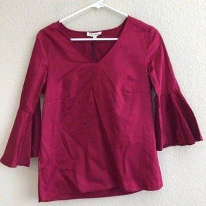 Jane and Delancey Top Bell Sleeves Boho Trendy